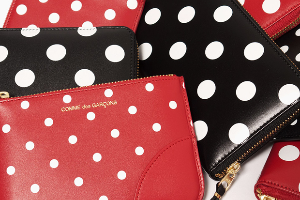 Image of COMME des GARCONS WALLET Polka Dot Collection