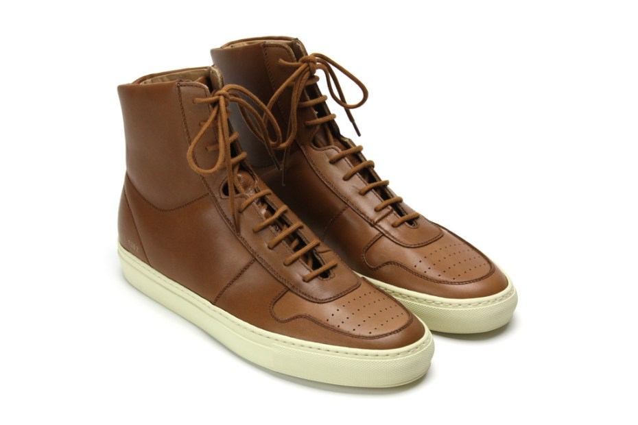 Image of Common Projects Vintage Basketball Sneakers