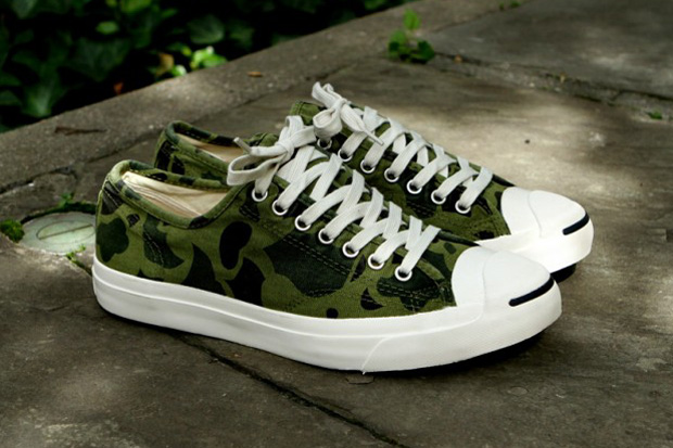 Image of Converse Jack Purcell LTT Olive Branch Camo