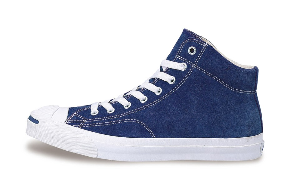 Image of Converse Jack Purcell Suede Mid