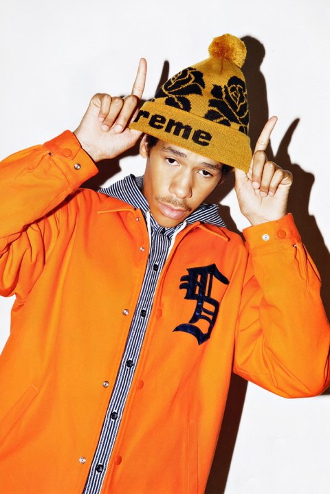Image of COOL TRANS: Supreme 2012 Fall/Winter Collection Editorial Featuring Lucien Clarke