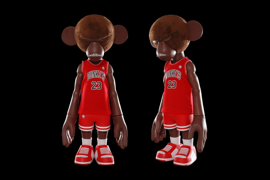 Image of COOLRAIN x MINDstyle DUNKEYS 23 Figure