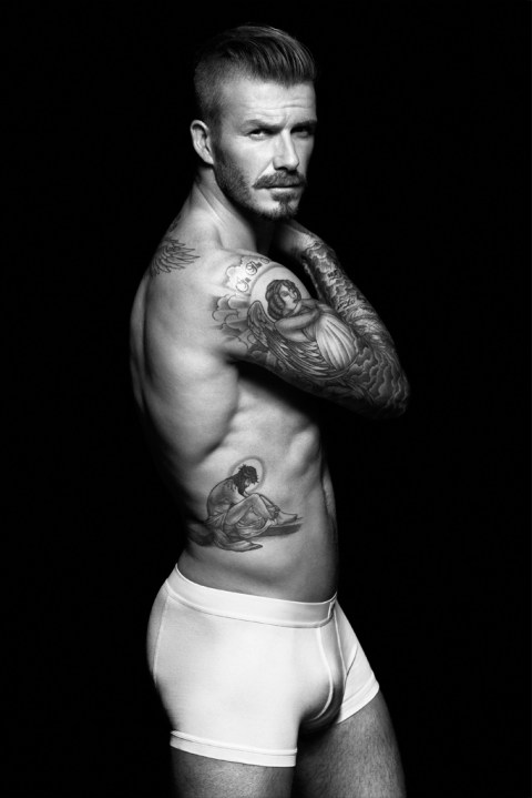 Image of David Beckham for H&M Bodywear Campaign