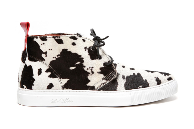 Image of Del Toro Alto Chukka Sneaker &quot;Mad Cow&quot;