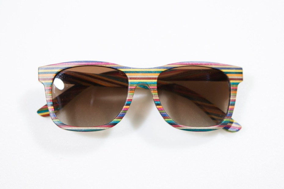 Image of Agenda Long Beach: Diamond Supply Co. Recycled Skateboard Sunglasses Preview