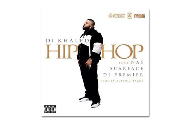 Image of DJ Khaled featuring Nas, Scarface & DJ Premier – Hip Hop