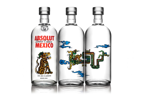Image of Dr. Lakra x ABSOLUT Vodka Bottles Pay Homage to Mexican Culture