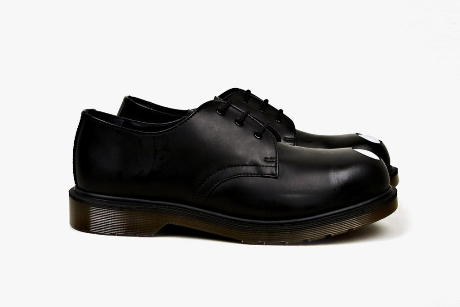Image of Dr. Martens Applique Keaton Steel-Toe Cap Shoe