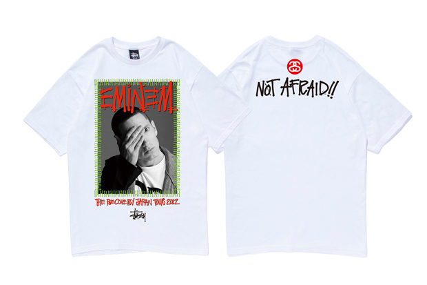 "Image of Eminem x Stussy ""RECOVERY JAPAN TOUR 2012"" T-Shirt"