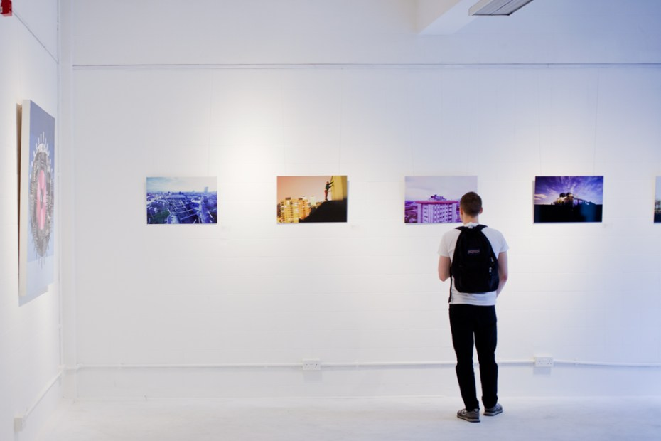 Image of Eye in the Sky Exhibition & Book Launch @ Stolen Space Gallery