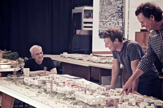 Image of Frank Gehry to Design Facebook HQ Expansion