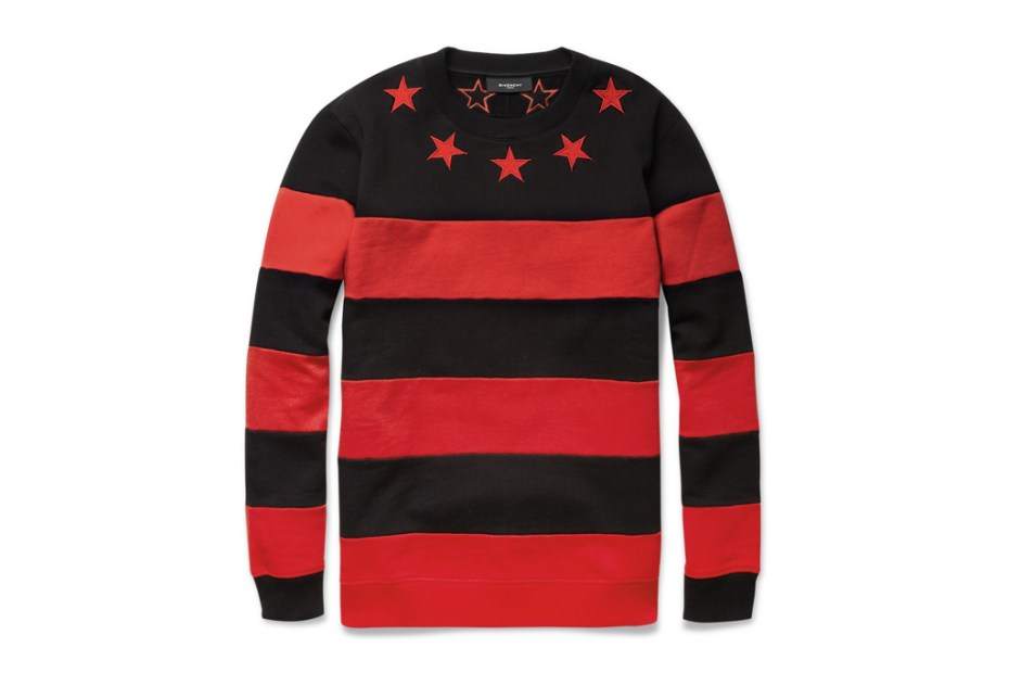Image of Givenchy Striped Cotton Jersey Sweater