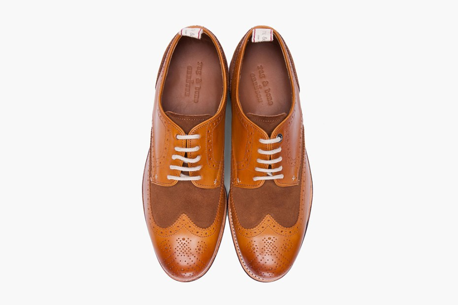 Image of Grenson for rag & bone Bedford Wingtip Brogues