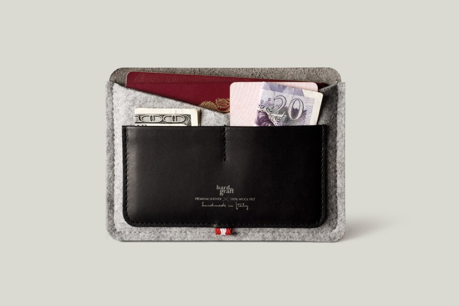 Image of hard graft Passport Wallet