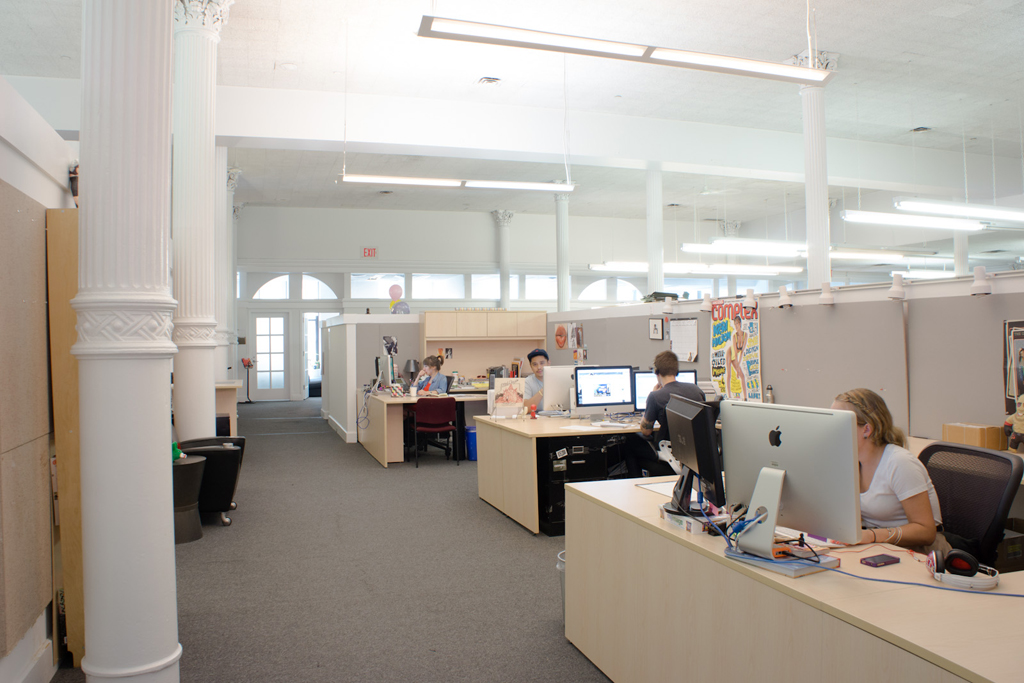 Image of Hypebeast Spaces: Complex Offices