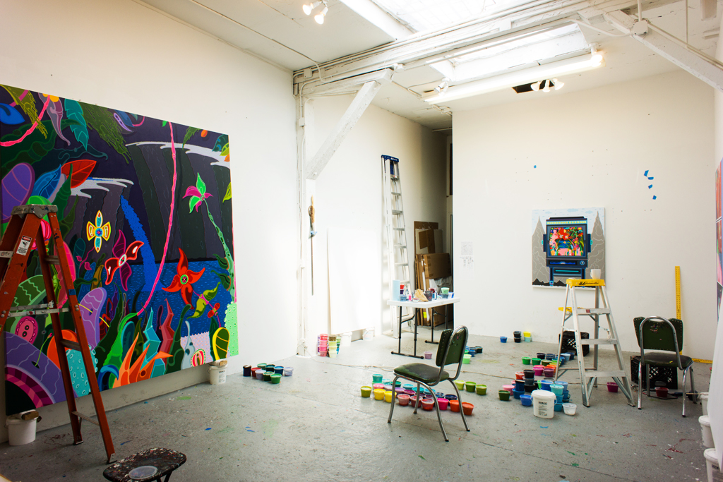 Image of HYPEBEAST Spaces: Erik Parker's Studio