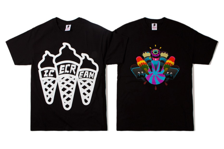 Image of ICECREAM 2012 Fall/Winter T-Shirt Collection