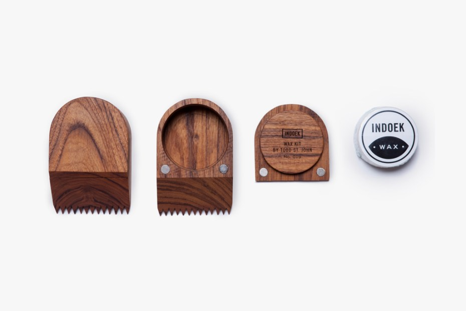 Image of Indoek and Todd St. John Create A Beautiful Surf Wax Kit
