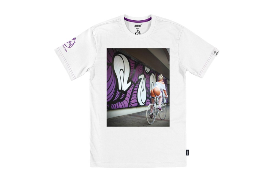 Image of INSA x Addict BIKE GIRLS T-Shirt Collection