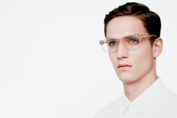 Image of Jil Sander 2012 Fall/Winter Eyewear Ad Campaign