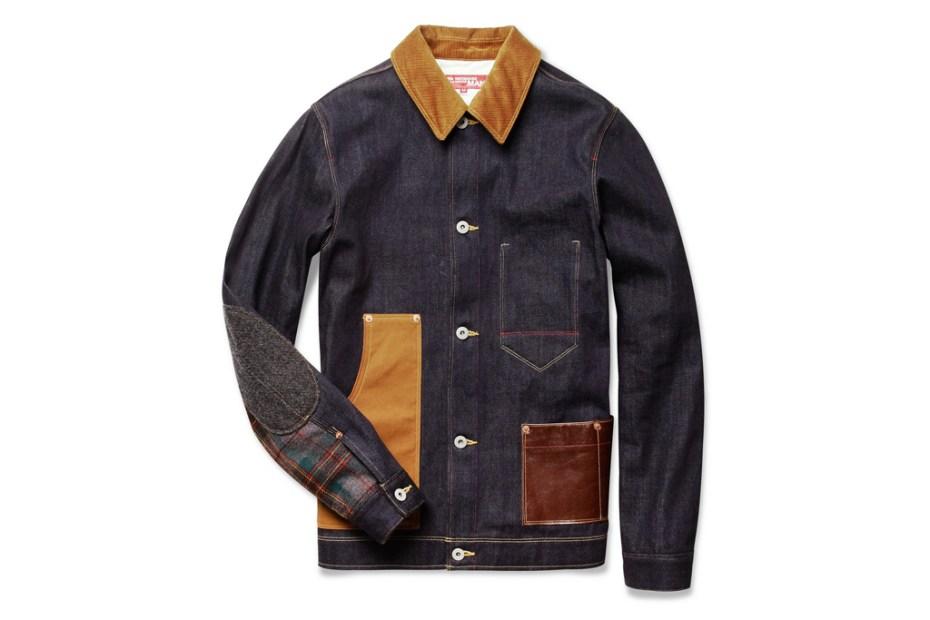 Image of JUNYA WATANABE x Levi's Contrast-Panel Denim Jacket