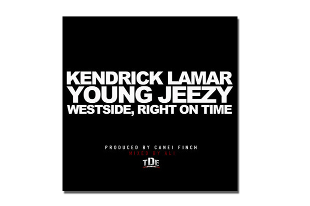 Image of Kendrick Lamar featuring Young Jeezy  Westside, Right On Time