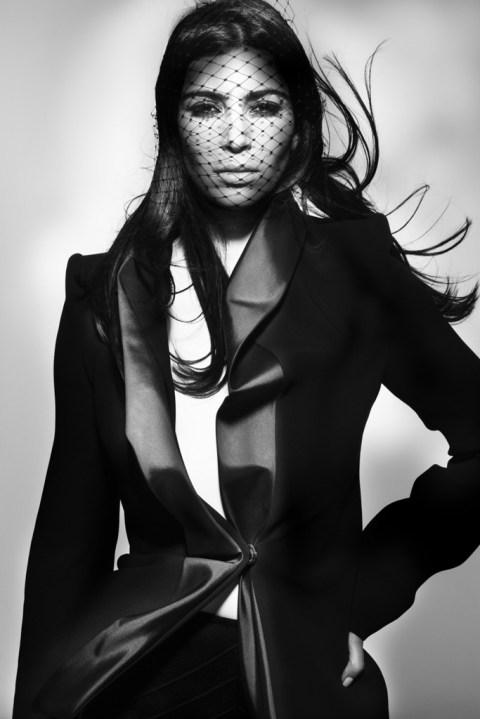 Image of Kim Kardashian for V Magazine by Nick Knight