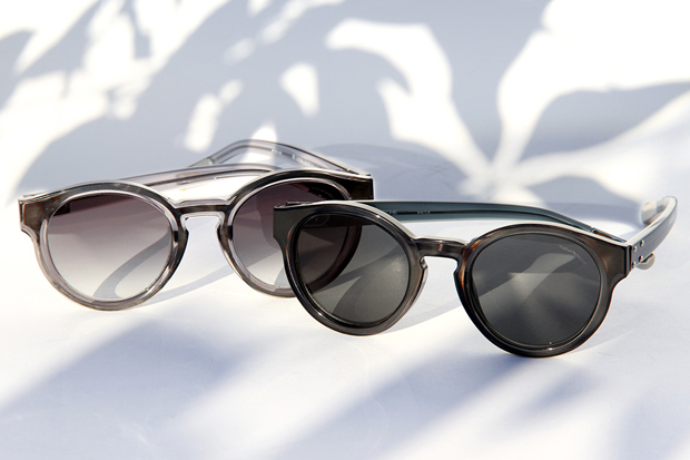 Image of Kris Van Assche x Linda Farrow 2012 Fall/Winter Round Sunglasses
