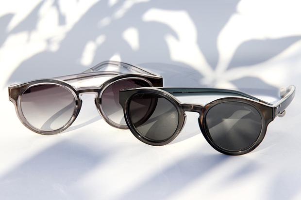 Image of Kris Van Assche x Linda Farrow 2012 Fall/Winter Round Sunglasses