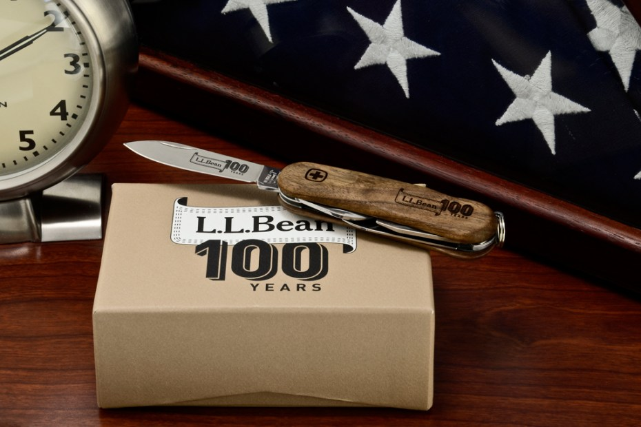 Image of L.L. Bean x Wenger 100th Anniversary EvoWood Swiss Army Knife