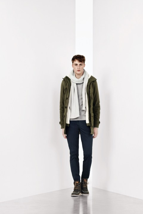 Image of Lacoste Color Blocking 2012 Fall/Winter Collection