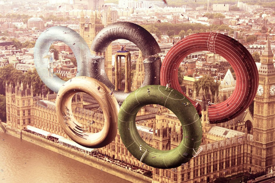 Image of Leonardo Dentico Reimagines the London 2012 Olympic Rings