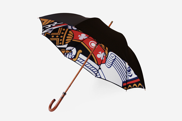 Image of London Undercover King of Clubs Umbrella