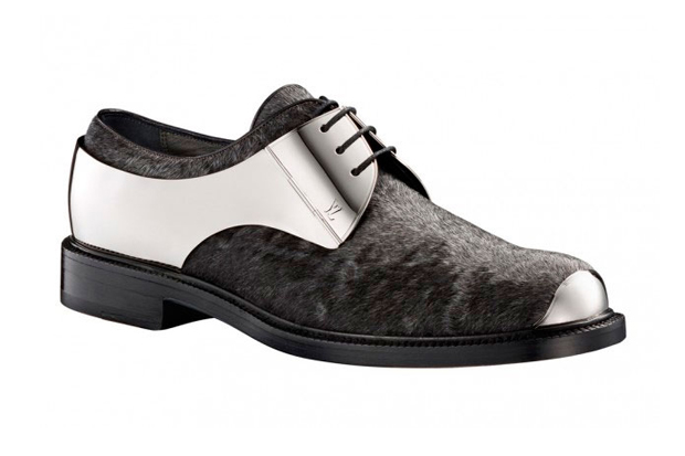 Image of Louis Vuitton Metal Lace-Up Shoes
