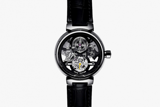 Image of Louis Vuitton Tambour Monogram Tourbillon