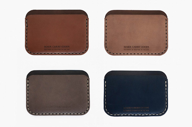 Image of Makr Carry Goods Round Wallet