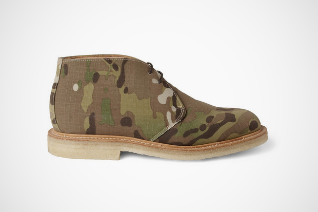 Image of Mark McNairy Camouflage Canvas Desert Boots