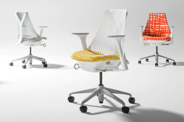 Image of Minnie Pwerle x Herman Miller SAYL Chair