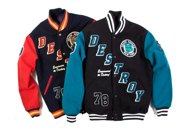 Image of Mishka Retro Destroy Varsity Jacket