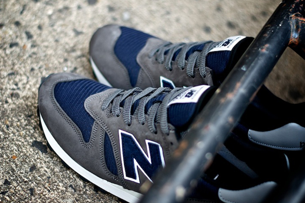 """Image of New Balance 2012 Fall 1300NG """"Navy and Grey"""""""