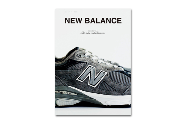 Image of New Balance 2012 Fall/Winter &#039;Let&#039;s Make Excellent Happen&#039; Book
