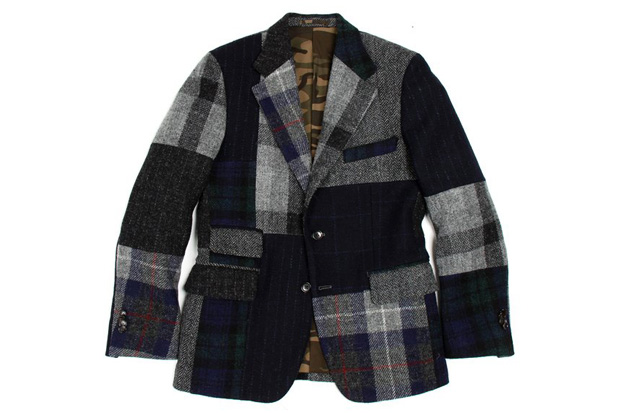 Image of Nick Wooster x United Arrows 2012 Harris Tweed Mallory Jacket