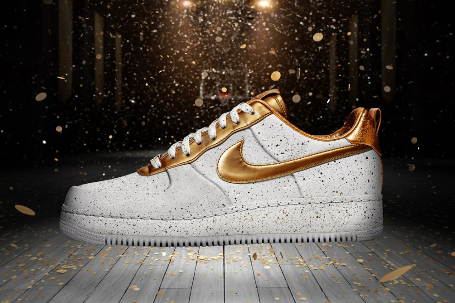 "Image of Nike Air Force 1 XXX ""Gold Medal"""