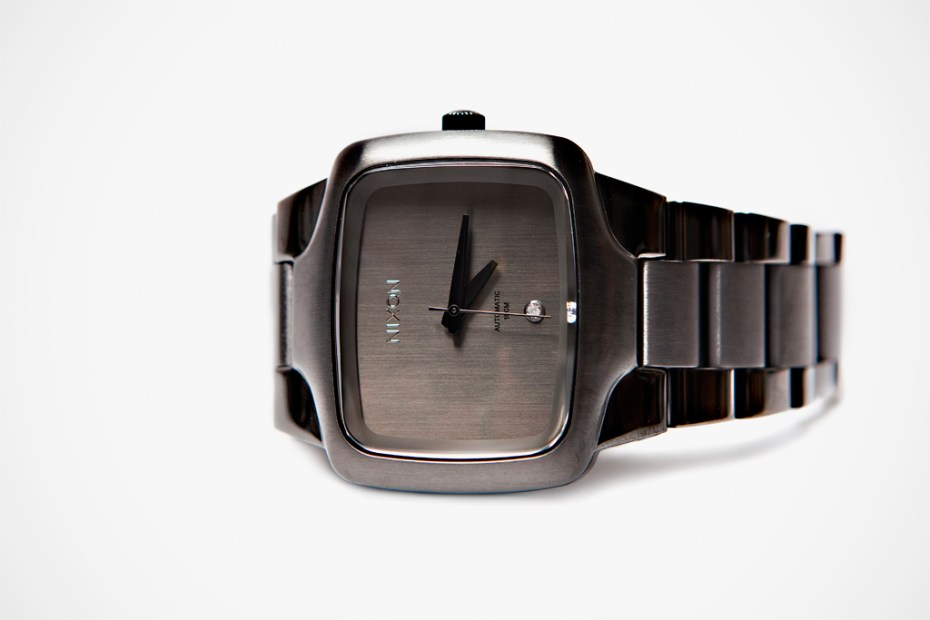 "Image of Nixon 2012 Fall/Winter The Player XL ""Gunmetal"""