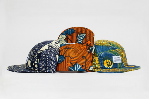 Image of Norse Projects &quot;Africa Pack&quot; 5-Panel Caps