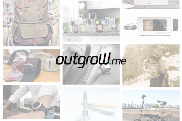 Image of outgrow.me Is the Place To Buy All Successfully Funded Kickstarter & Indiegogo Products