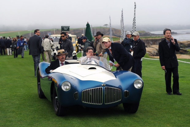 Image of Pebble Beach Tour d'Elegance 2012