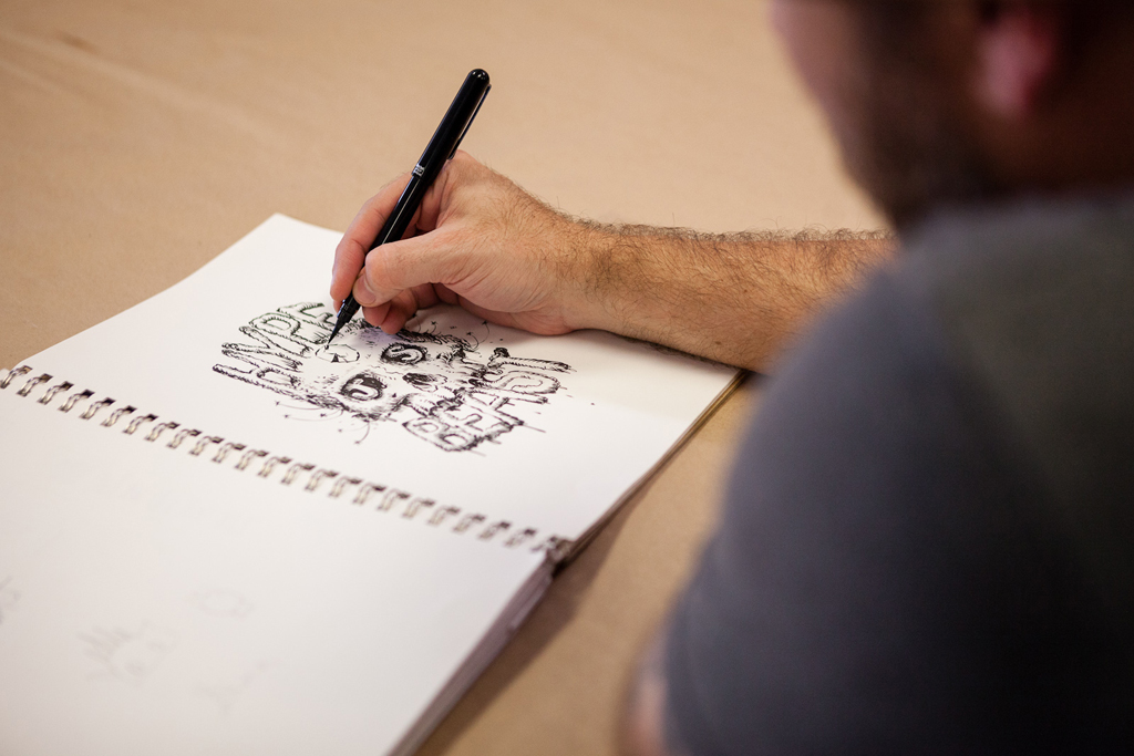Image of Pen & Paper: Jeff Soto