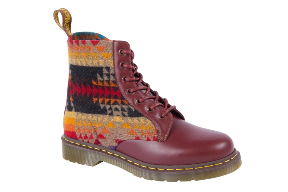 "Image of Pendleton x Dr. Martens ""Pagosa Springs"" 7 Eye Boot"