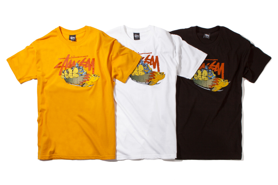 Image of Pierre Bolide x Stussy 2012 Fall Collection